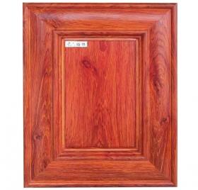 金橡木B款蜂窝整板全铝门